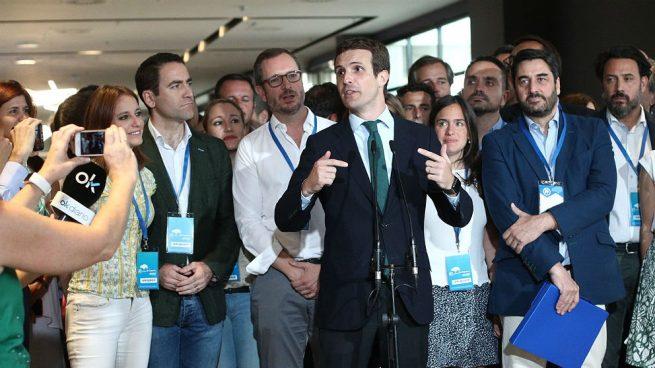 Actualidad Actualidad El Rey recibe a Pablo Casado en audiencia este miércoles tras ser elegido presidente del PP