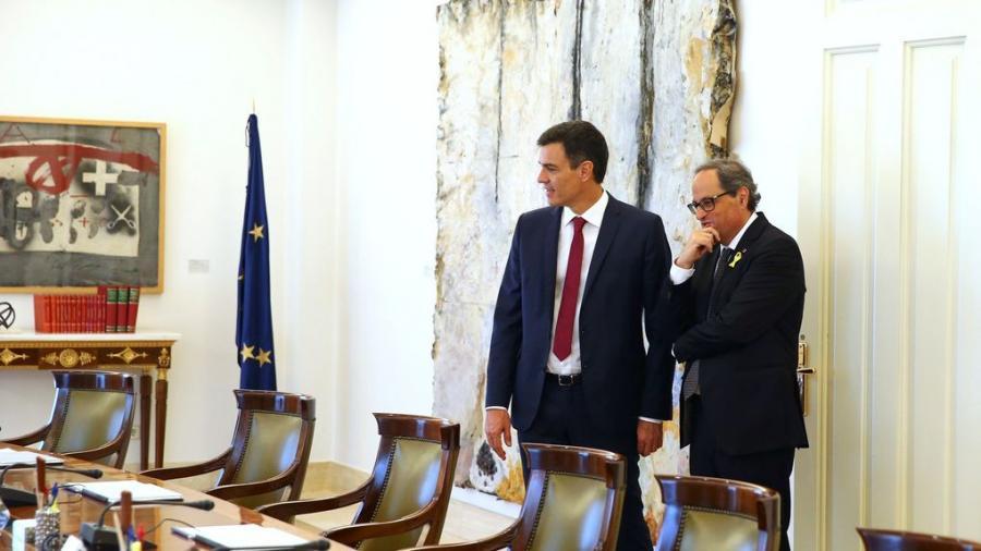 Actualidad Actualidad La Generalitat 'cuela' la autodeterminación en su reunión con el Estado el 1 de agosto
