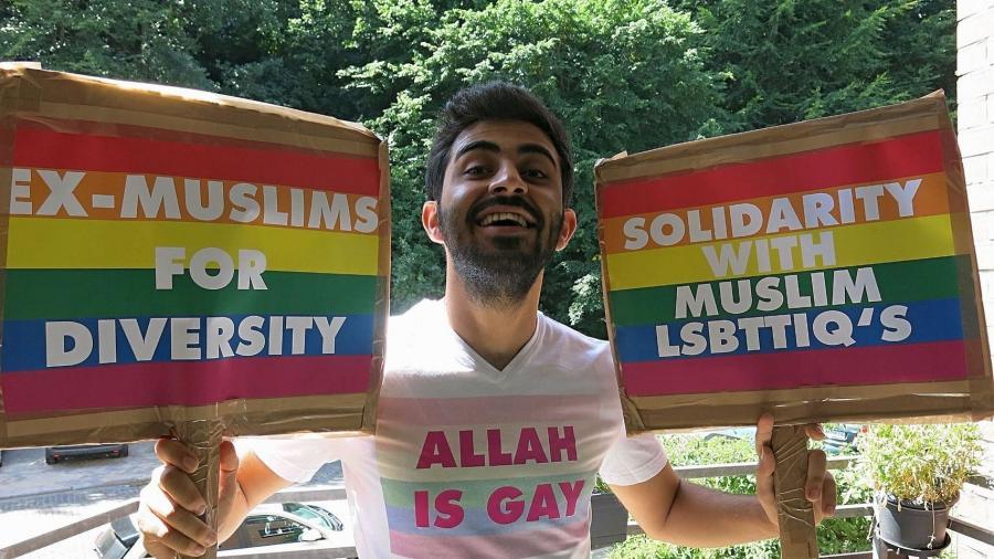 """Gays Gays El alto precio de afirmar que """"Alá es gay"""" siendo iraquí"""
