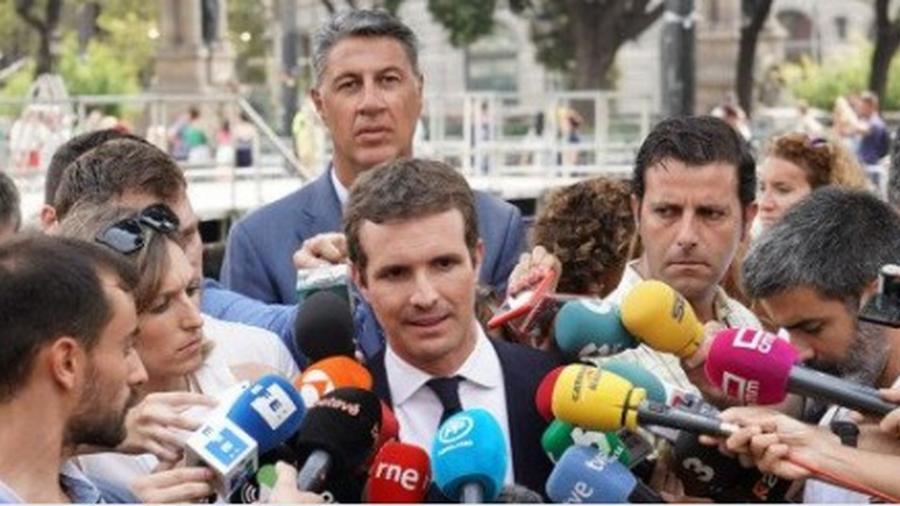 """Actualidad Actualidad Casado: """"Torra no ha respetado ni las 24 horas que pidieron las víctimas"""""""