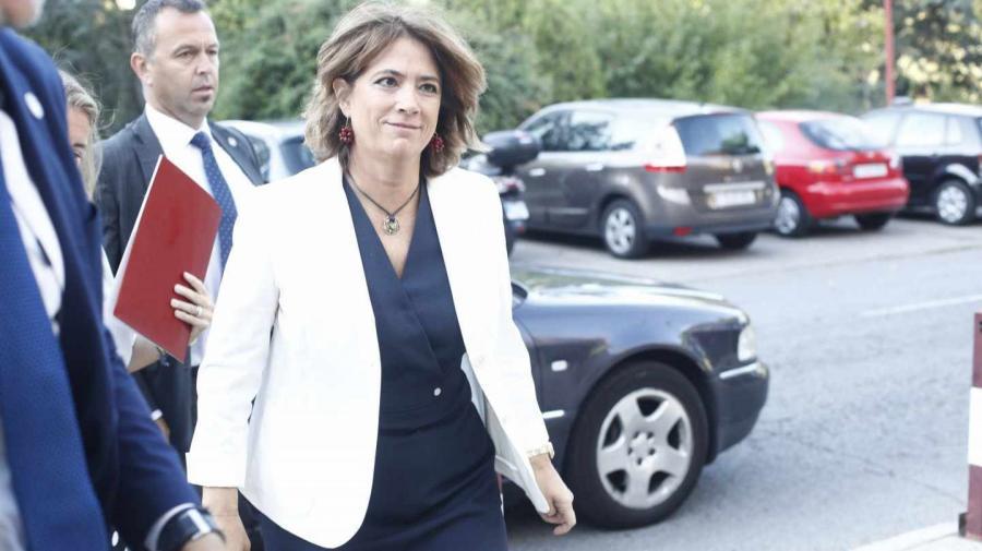 Actualidad Actualidad La ministra de Justicia, en situación comprometida por su relación con Villarejo
